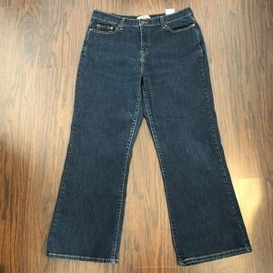 Levis 512 jeans perfectly slimming bootcut size 16